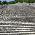 写真: 階段状の水場