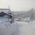 Photos: 雪深い住宅街