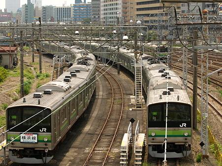 205系横浜線(東神奈川)