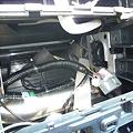 Photos: ゼストのMOPのバックモニター付きオーディオを外したところ