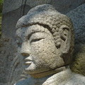 如来坐像頭部~韓国慶州 Seated  Buddha head