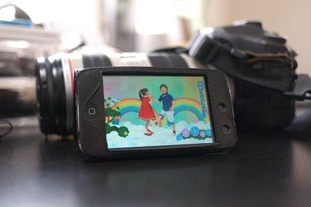 2011.10.14 机 iPod touchにYou Tubeから動画