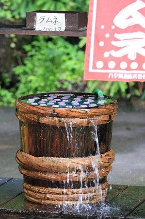 2010.08.17 法師温泉 ラムネ樽