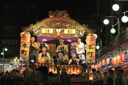 2011.08.07 富士 甲子祭 山車