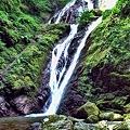写真: 阿波 雨乞いの滝・・・。