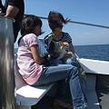 Photos: 海や風も体験し