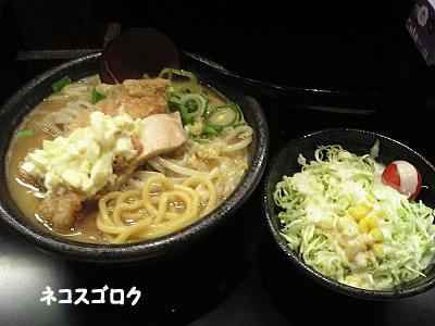 悪代官 @ 江戸川 ぬーどる 700円 + 女性限定サラダ20円