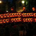 Photos: 夕暮れ、神輿が練り歩く2!(110709)