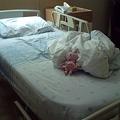 Photos: バンコク|サミティベート病院 病室のベッド