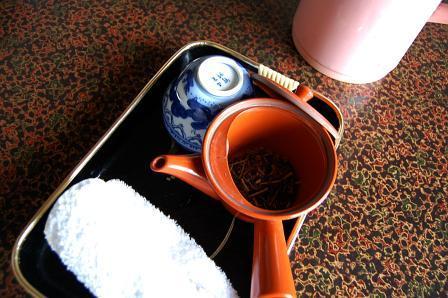 お茶&ポット