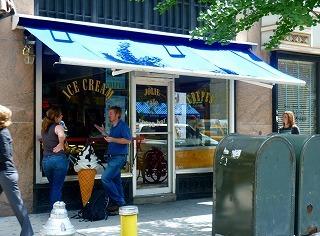 7a2253b68318 NYはアイスクリームも美味しいみたい。今回JALふぁんは、カロリー過多を警戒して食べる量は注意していましたので、アイスクリームは食べませんでした。