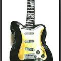 写真: ギター型ショルダーバッグ13