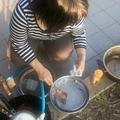 Photos: 今日のご飯は5種類のおにぎ...