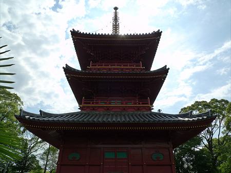 豊前国分寺(7)三重塔
