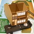 写真: 建物紙模型
