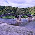 HDR・・綺麗な橋 岩国錦帯橋