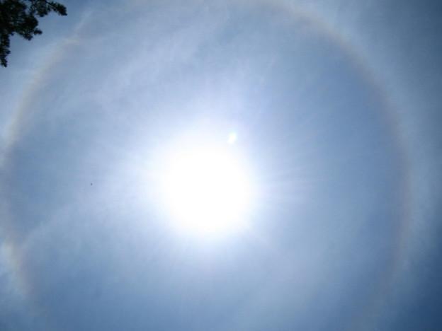 2006/07/15 ハロと太陽シャワー