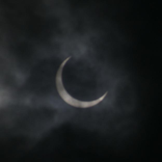 写真: 金環日食01